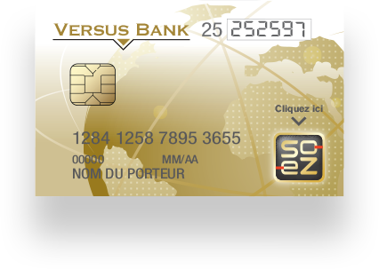 Carte So-eZ / Versus Bank
